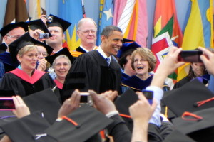President Obama Urges Graduates to Participate in Public Life