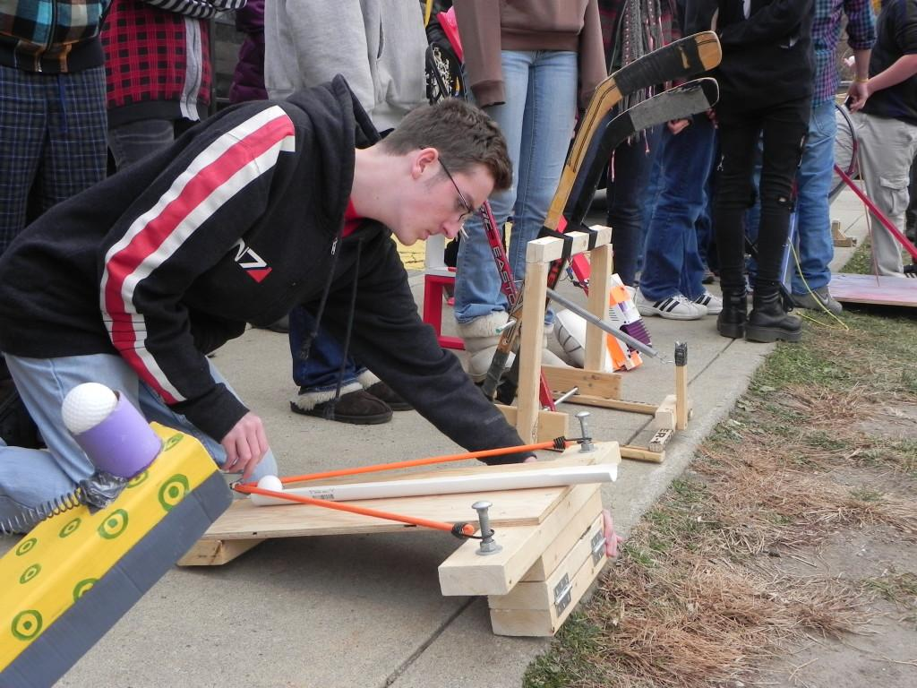 how to build a catapult for physics class