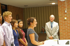 CHS Awarded Volunteer Of The Month Proclamation By City Council