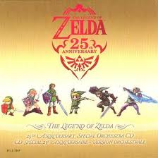 """The Legend of Zelda 25 Anniversary Special Orchestra CD"" Hyrule Symphony"