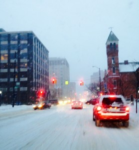 Winter Weather Hits Ann Arbor Hard