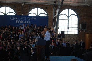 Obama Visits Ann Arbor with Minimum Wage Proposal