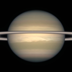On May 10, Earth will be directly aligned between Saturn and the Sun.