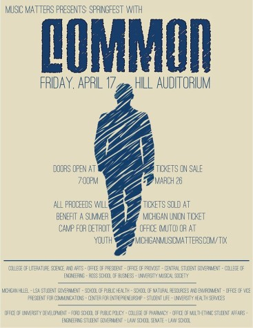 Common Coming to Hill Auditorium