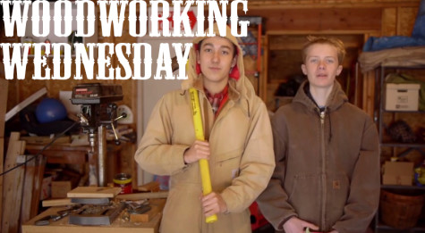 Woodworking Wednesday: Drilling a Partial Hole