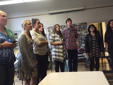 The Second Year of Community High School's A Cappella Club