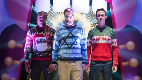 """The Night Before,"" Underwhelming but Sweet Christmas Comedy"