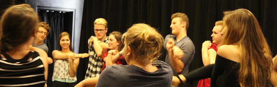 CET Actors Prepare for Callbacks