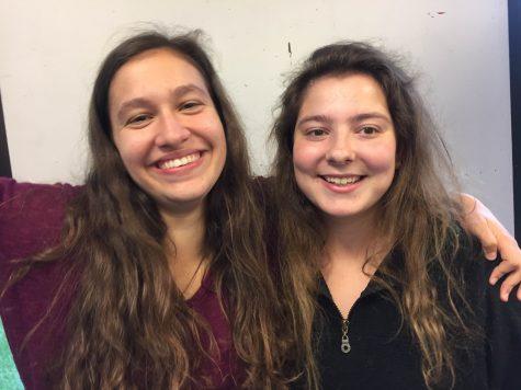 Seniors Hannah Rubenstein and Katy Stegemann