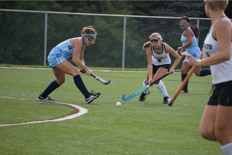 Skyline Eagles Field Hockey Team Takes on the River Rats