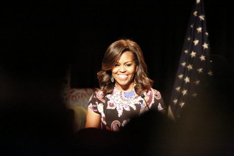 Michelle Obama Speaks for Hillary, for Women