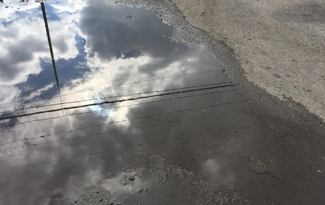 Clouds Reflect After A Rainy Day