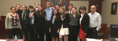 Community High Mock Trial Team Competes in State Championships