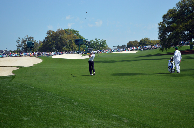 Sergio+Garcia+playing+The+Masters+at+Augusta+National