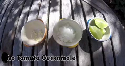 No Tomato Guacamole