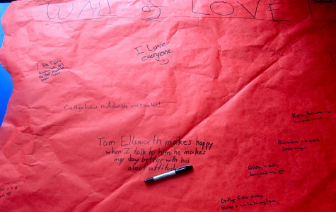 Alice Elliott's Wall of Love Brings Community Students Together