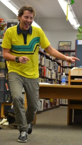 Poet Jon Sands visits CHS Poetry Club