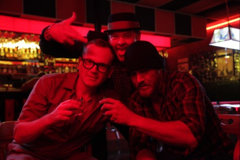 "Peat Healy, David Koechner and Ethan Embry in E.L. Katz's ""Cheap Thrills""."