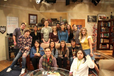 The cast with the Sunshine Kids. Photo taken from Big Bang wikia.