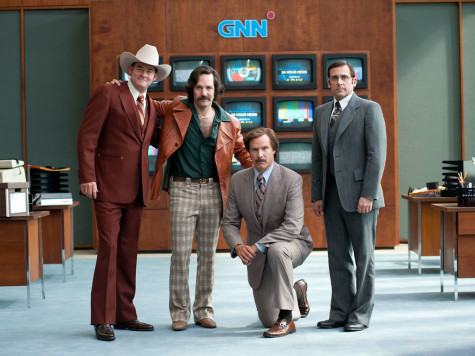 "The main cast in ""Anchorman 2: The Legend Continues""."