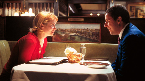 "Emily Watson and Adam Sandler in ""Punch-Drunk Love""."