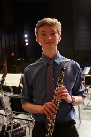 "Alex Maynard, who played Vaughan Williams' ""Concerto in A minor for Oboe and Strings"""