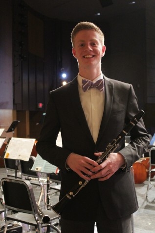 "Griffin Roy, who played Gioachino Antonio Rossini's ""Introduction, Theme, and Variations"""