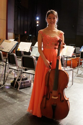 "Lydia Jang, who played Dmitri Kabalevsky's ""Concerto No. 1 in G minor, Op. 49"""