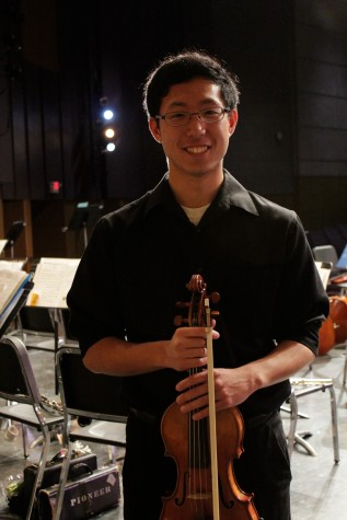"Michael Lee, who played Camille Saint-Saens' ""Concerto No. 3, Op. 61"""