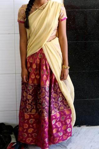 Half-sari