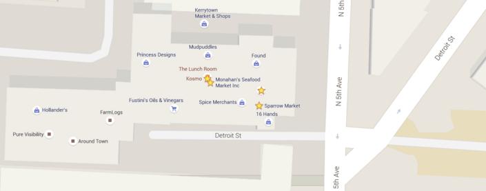Kerrytown Map