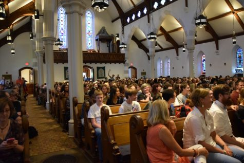 CHS Kicks Off The Year With St. Andrew's Opening Ceremony