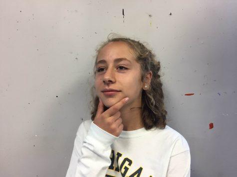 Senior Maggie Mihaylova