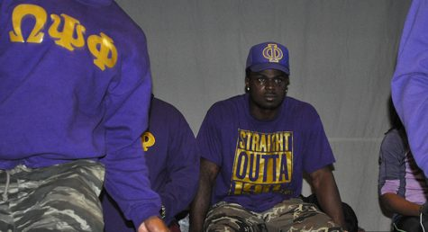 Jabrill Peppers and Omega Psi Phi Fraternity visits Community High