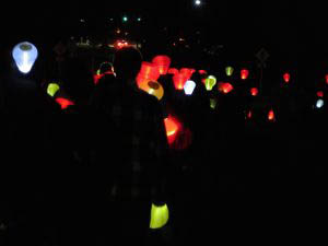 "CHS Students Support Team Emma as They ""Light the Night"""