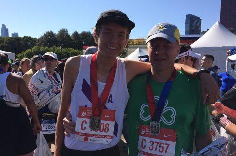 Senior Alex Hughes Run the Chicago Marathon at age 18