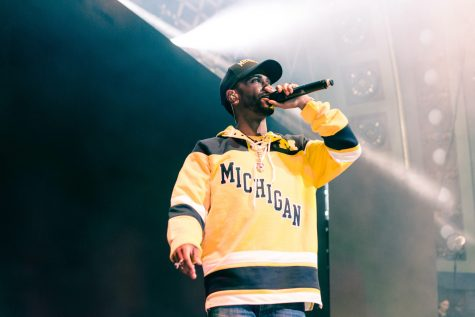 Big Sean Braves Hill Auditorium for the Beyond the Blue Benefit Concert