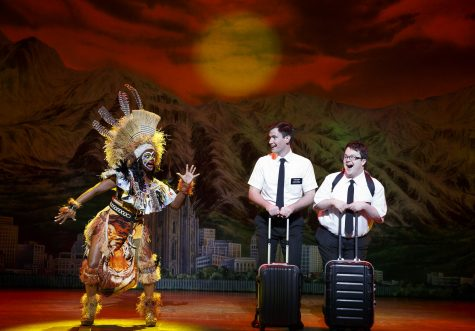 Elder Price, center, is now played by Gabe Gibbs, not Randy Bondy, who is pictured.
