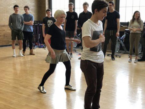 Judith DeWoskin Leads Friday Wellness Dance Break