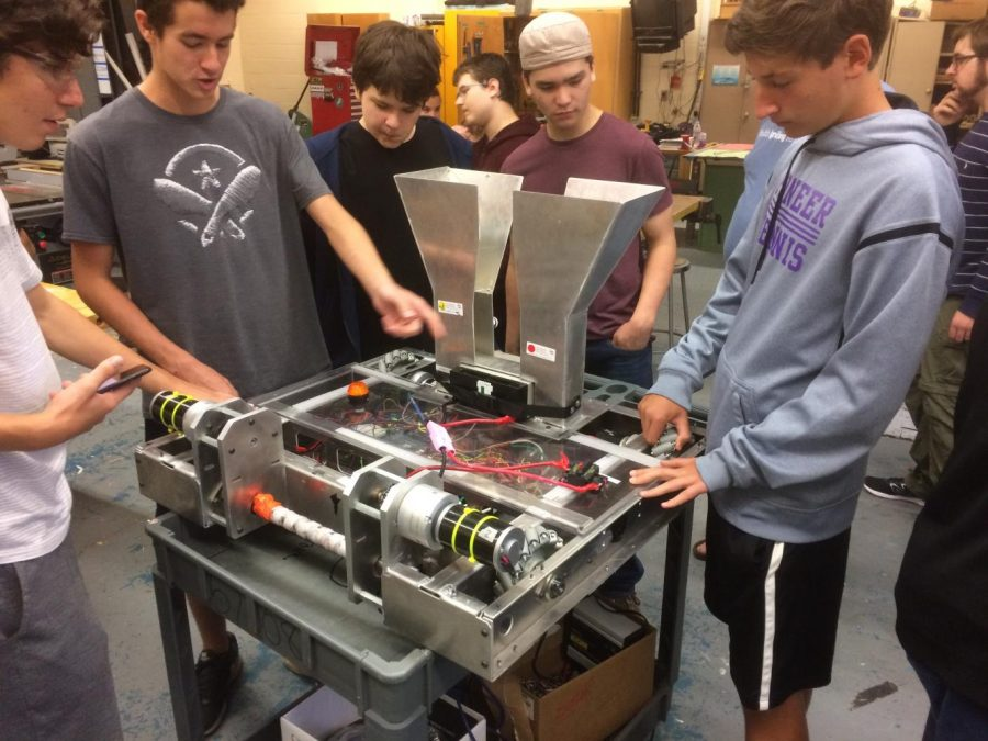 First Meeting of Zebrotics- Community's Robot Team